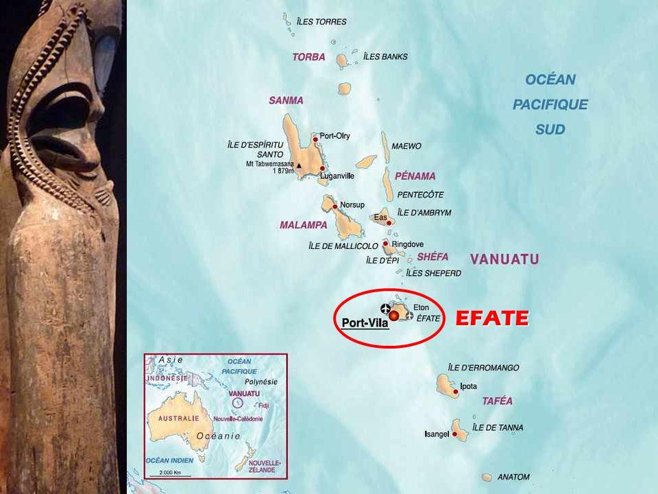 Le Vanuatu, est un archipel du Pacifique Sud, d'origine volcanique, situé à 1.750 kilomètres à l'est de l'Australie, 500 km au nord-est de la Nouvelle