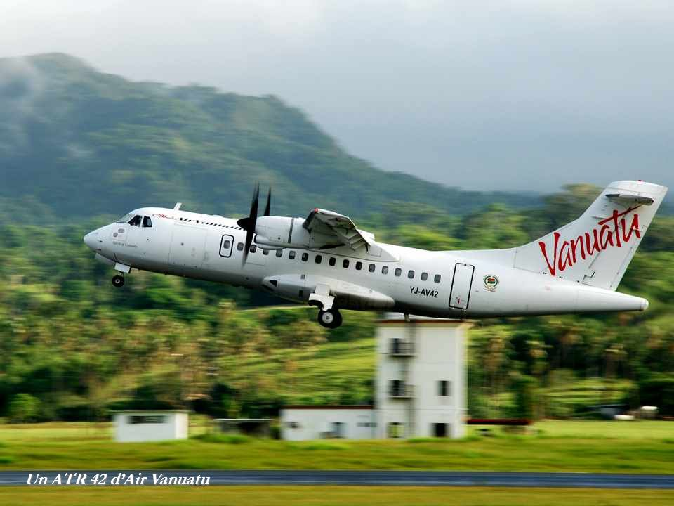 Un ATR 42 dAir Vanuatu