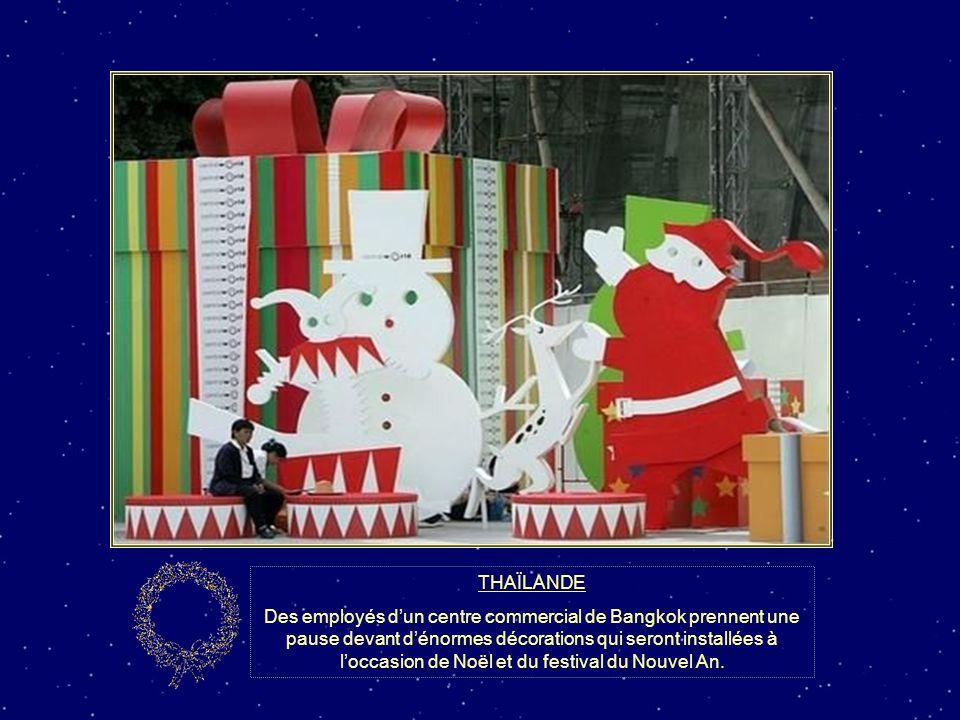 SUISSE Le père Noël a troqué son traîneau contre une Harley Davidson à Bâle.