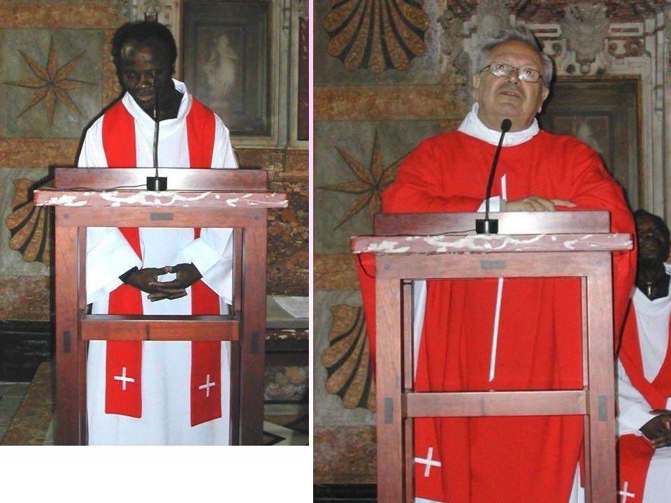 Messe dans une chapelle de la basilique