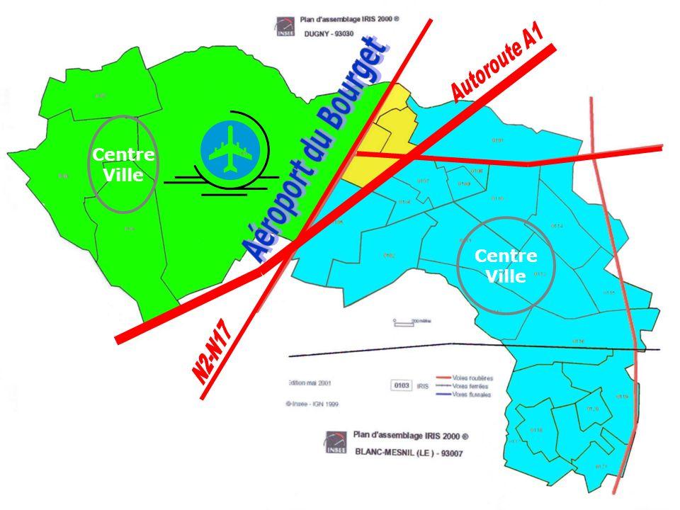 ASV et INTERCOMMUNALITE - 19/11/2004 3 DUGNY Données INSEE 1999 10 000 habitants QUARTIER PONT-YBLON 811 habitants 100 % en habitat collectif Centre Ville