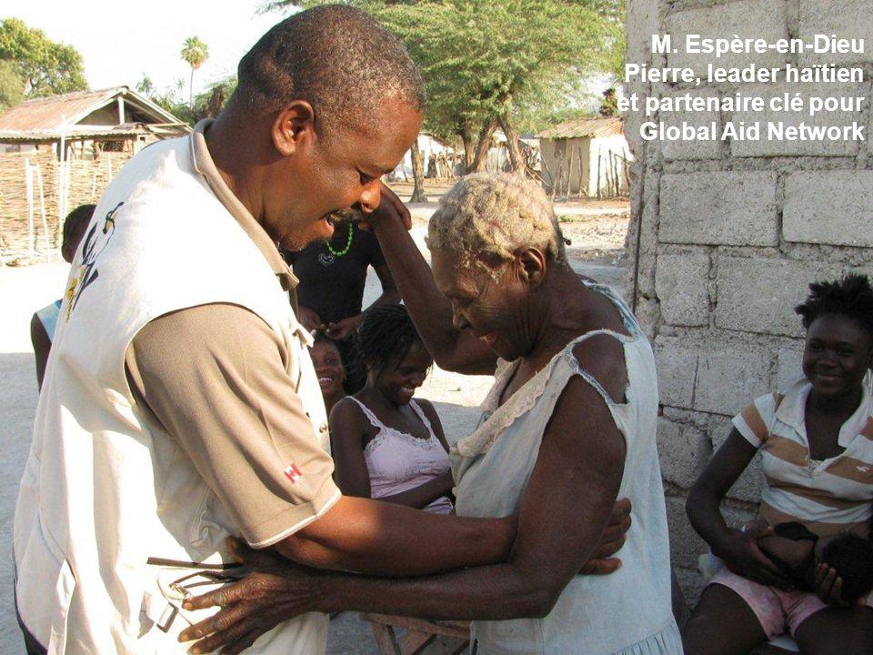 M. Espère-en-Dieu Pierre, leader haïtien et partenaire clé pour Global Aid Network