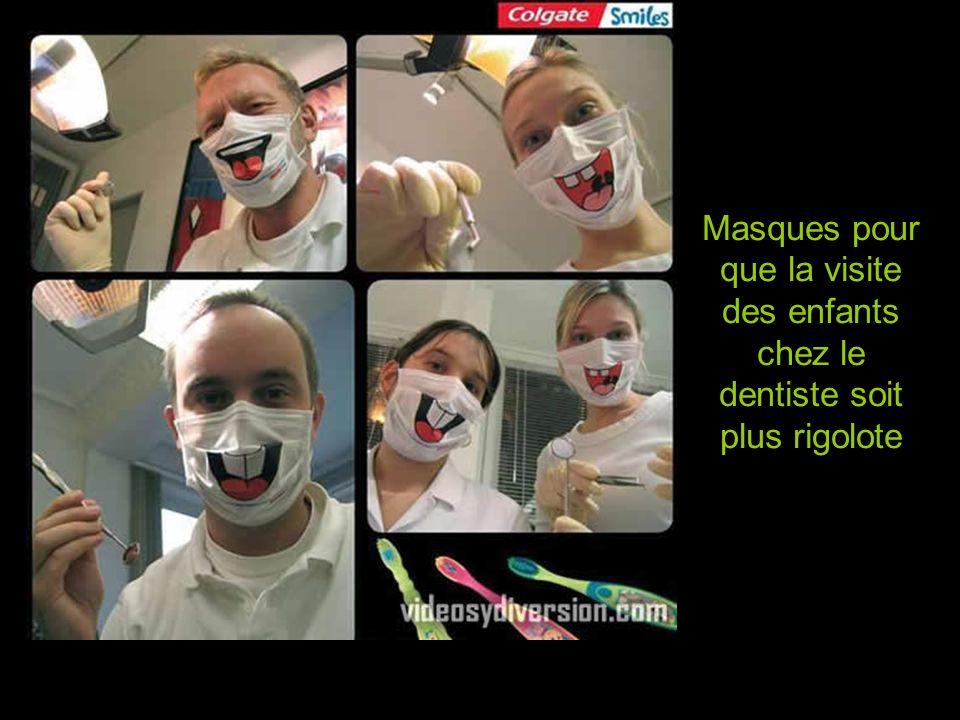 Diaporama PPS réalisé pour http://www.diaporamas-a-la-con.com Masques pour que la visite des enfants chez le dentiste soit plus rigolote