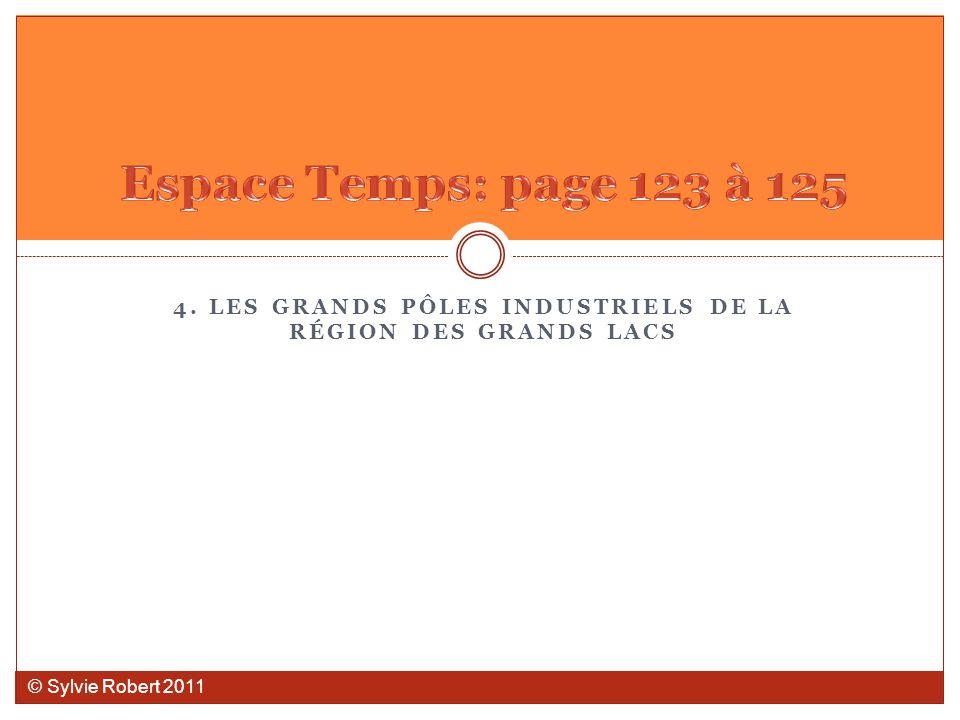 4. LES GRANDS PÔLES INDUSTRIELS DE LA RÉGION DES GRANDS LACS © Sylvie Robert 2011