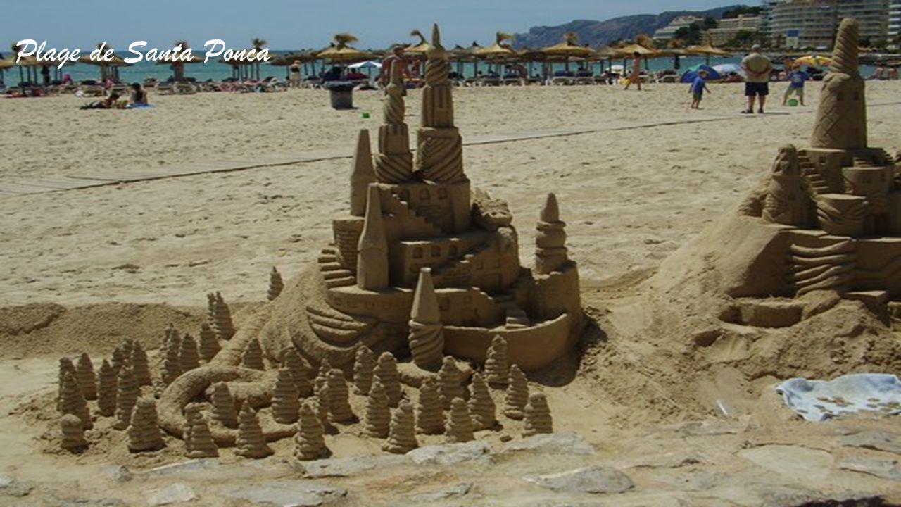 La plage de Palma