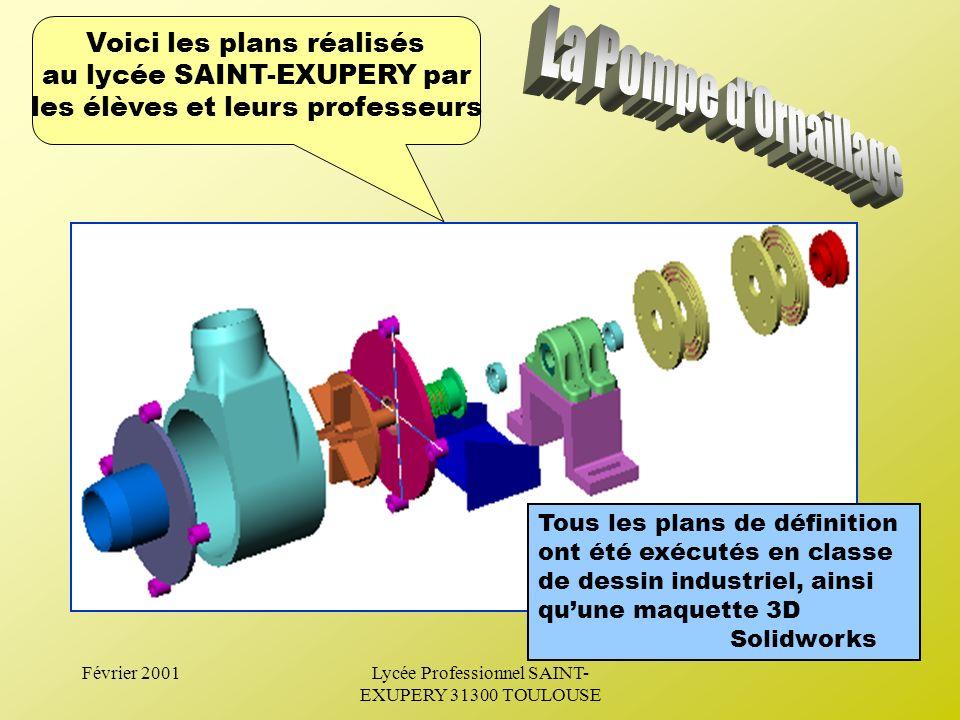Février 2001Lycée Professionnel SAINT- EXUPERY 31300 TOULOUSE --> Impliquer les différentes disciplines enseignées E nseignement Professionnel : -Cons
