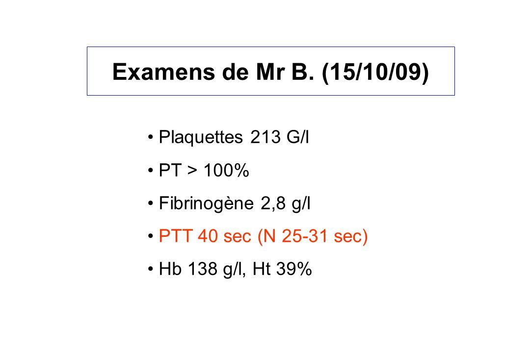 Examens de Mr B.