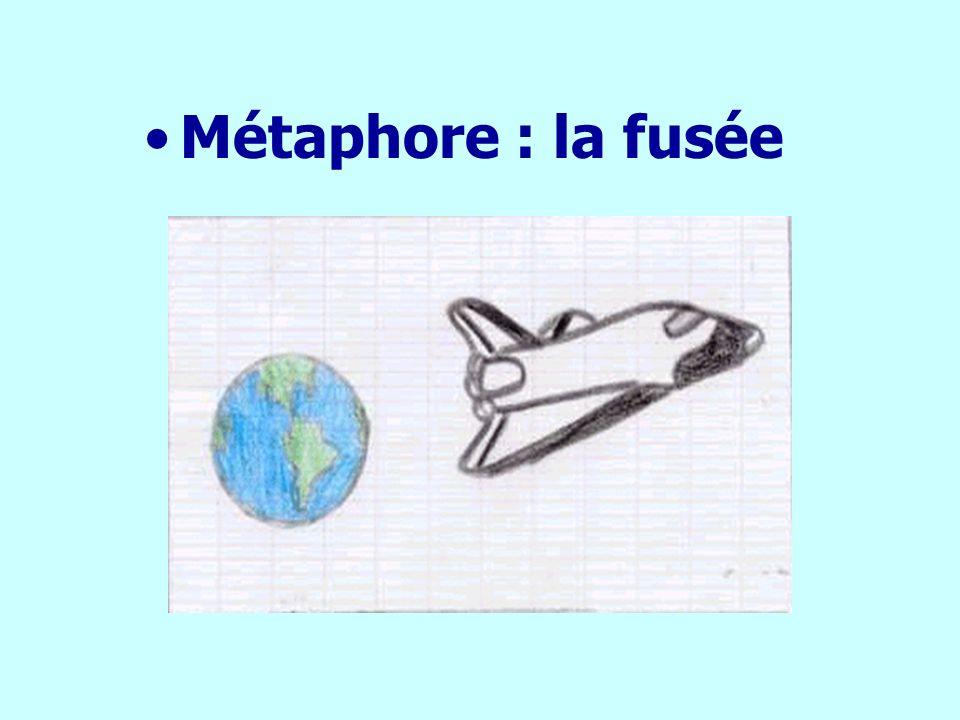 Métaphore : la fusée