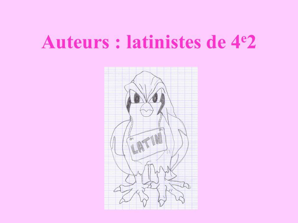 Auteurs : latinistes de 4 e 2