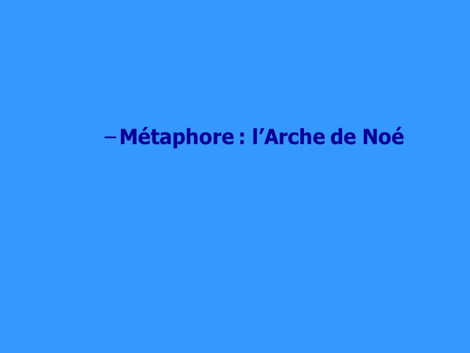 –Métaphore : lArche de Noé