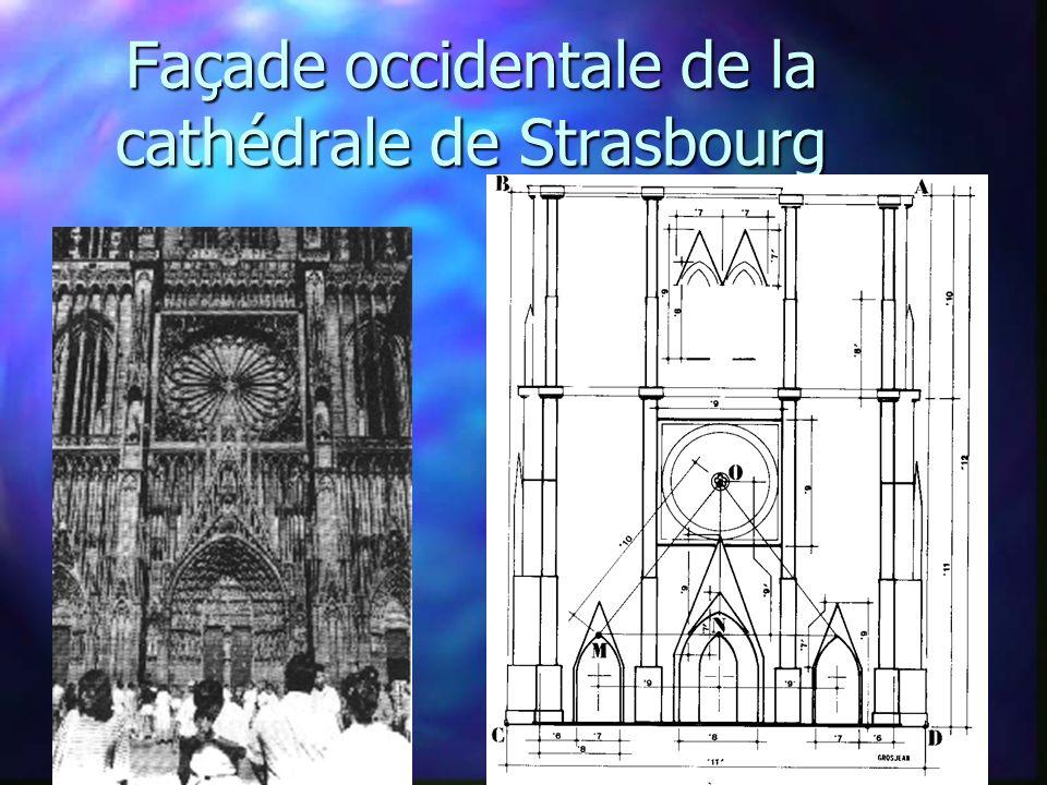Façade occidentale de la cathédrale de Strasbourg