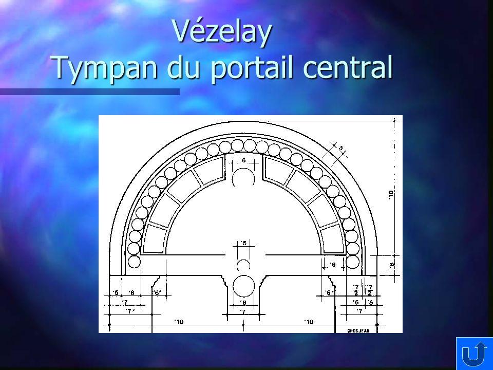 Vézelay Tympan du portail central
