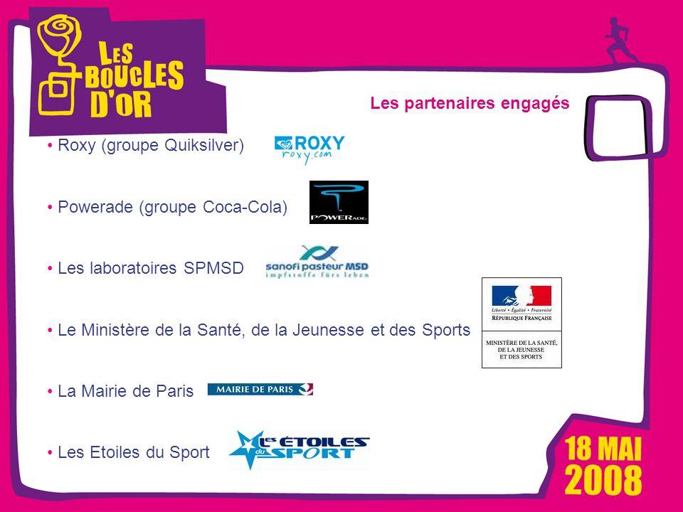 1000 femmes, 1000 vies pour Métro - Mars 2008 Les Boucles dOr, un événement Alizeum Sport Les partenaires engagés Roxy (groupe Quiksilver) Powerade (g