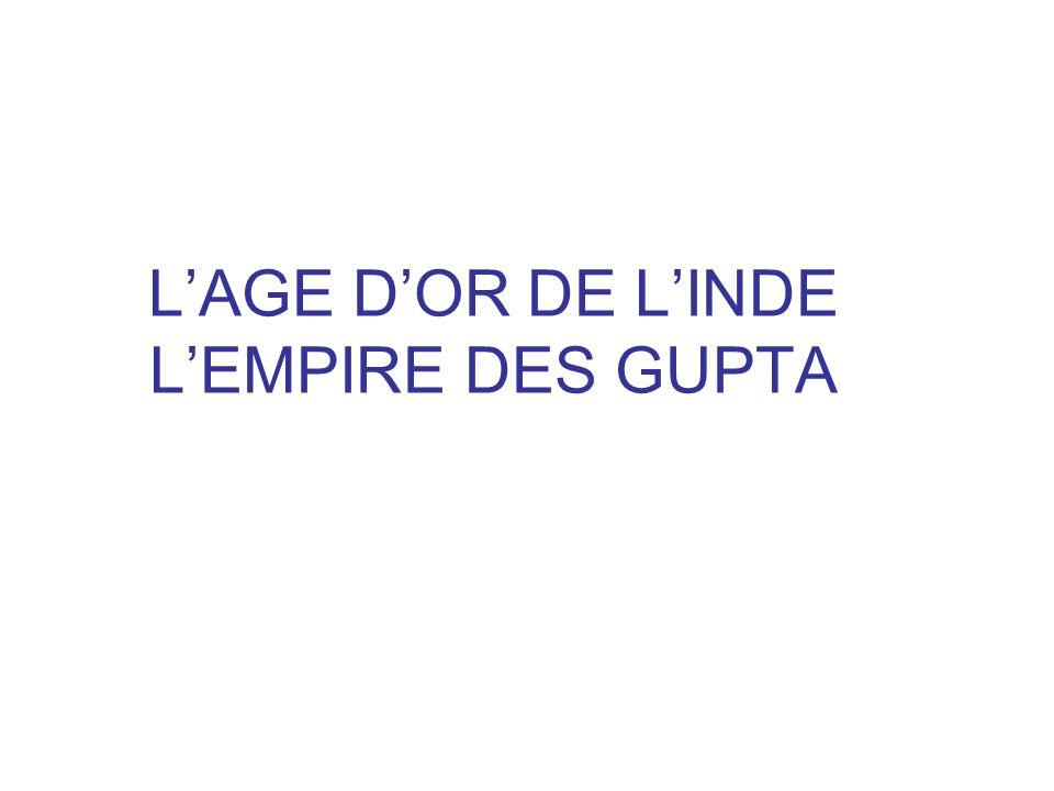 LAGE DOR DE LINDE LEMPIRE DES GUPTA