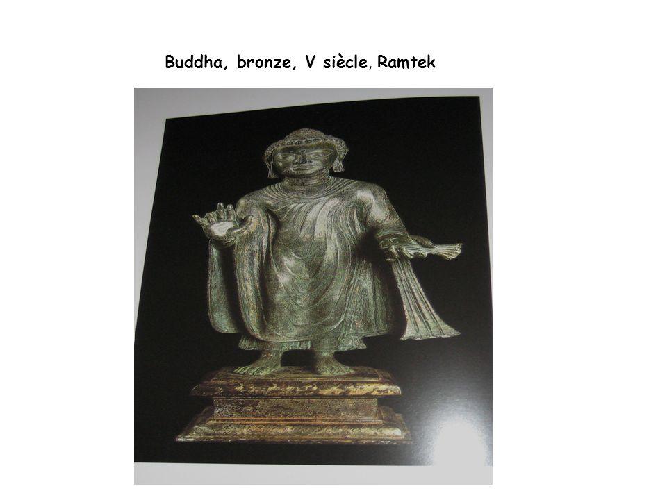 Buddha, bronze, V siècle, Ramtek