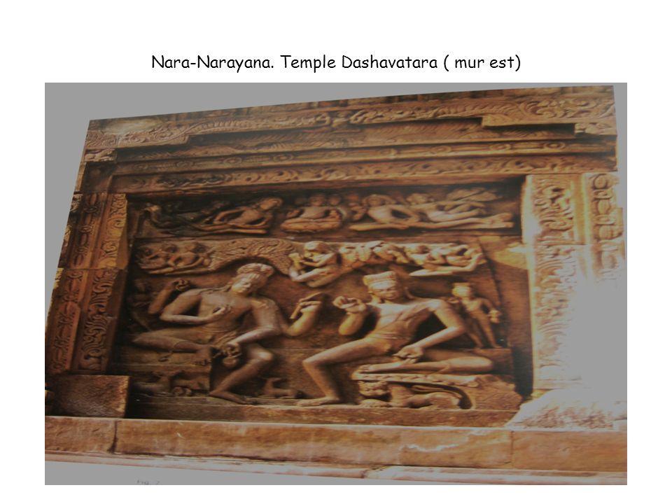 Nara-Narayana. Temple Dashavatara ( mur est)