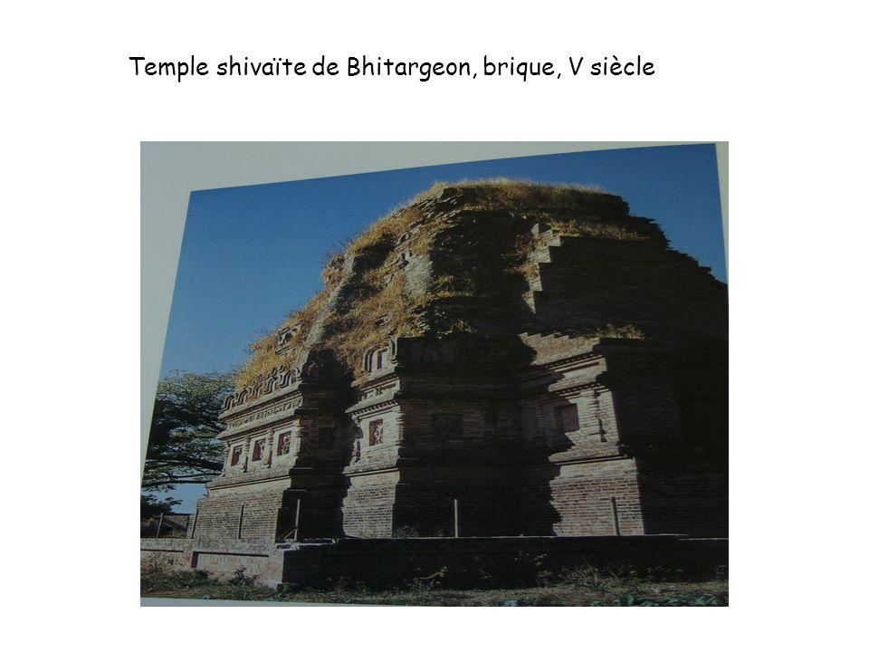 Temple shivaïte de Bhitargeon, brique, V siècle