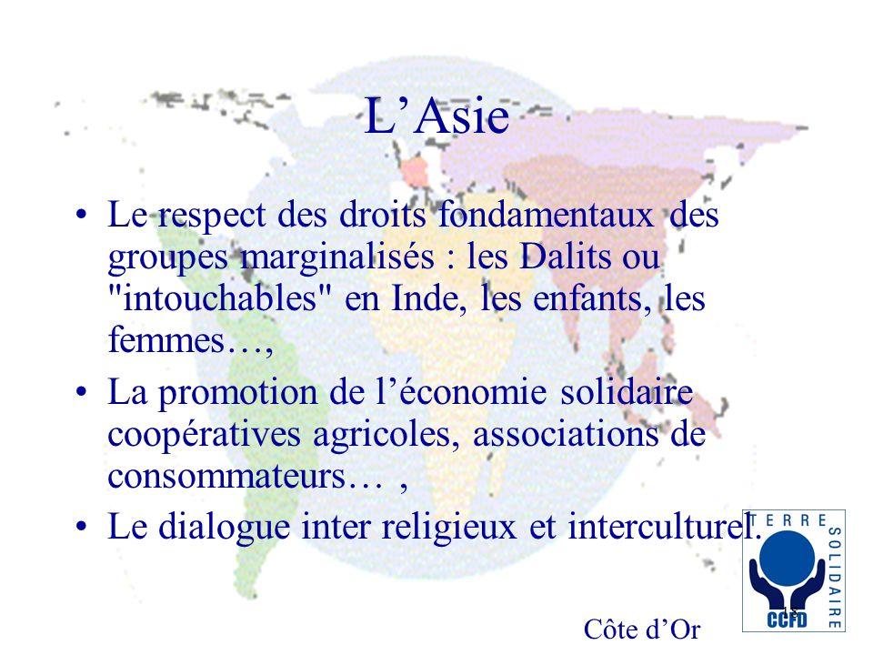 Côte dOr 18 LAsie Le respect des droits fondamentaux des groupes marginalisés : les Dalits ou