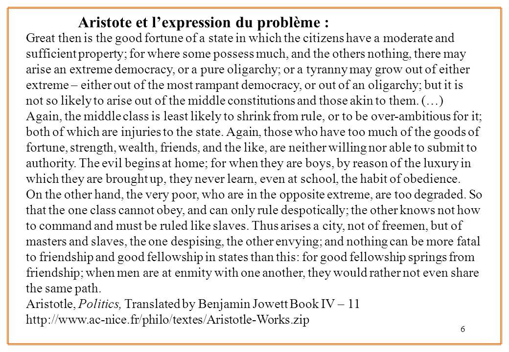 7 lClivages et conflictualité : le rôle du défi (Toynbee), du ressentiment (Ferro), de la frustration relative (Tocqueville, Merton, Gurr) « Quand l inégalité est la loi commune d une société, les plus fortes inégalités ne frappent point l oeil; quand tout est à peu près de ce niveau, les moindres le blessent.