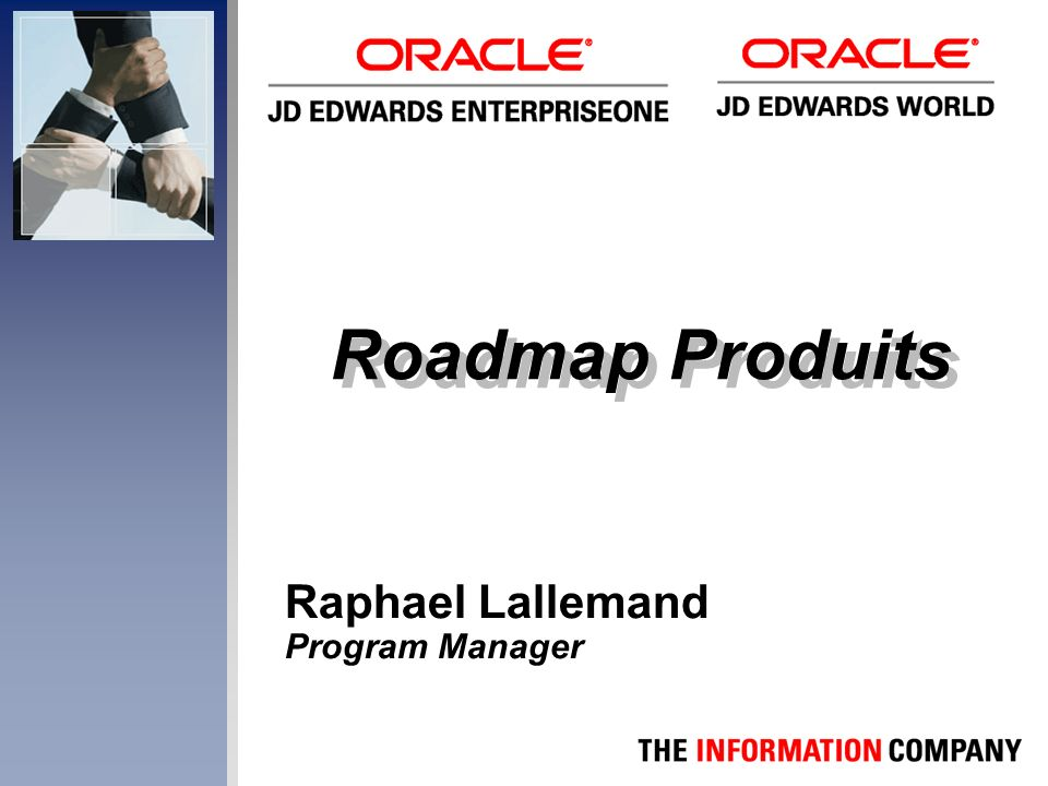 Roadmap Produits Raphael Lallemand Program Manager