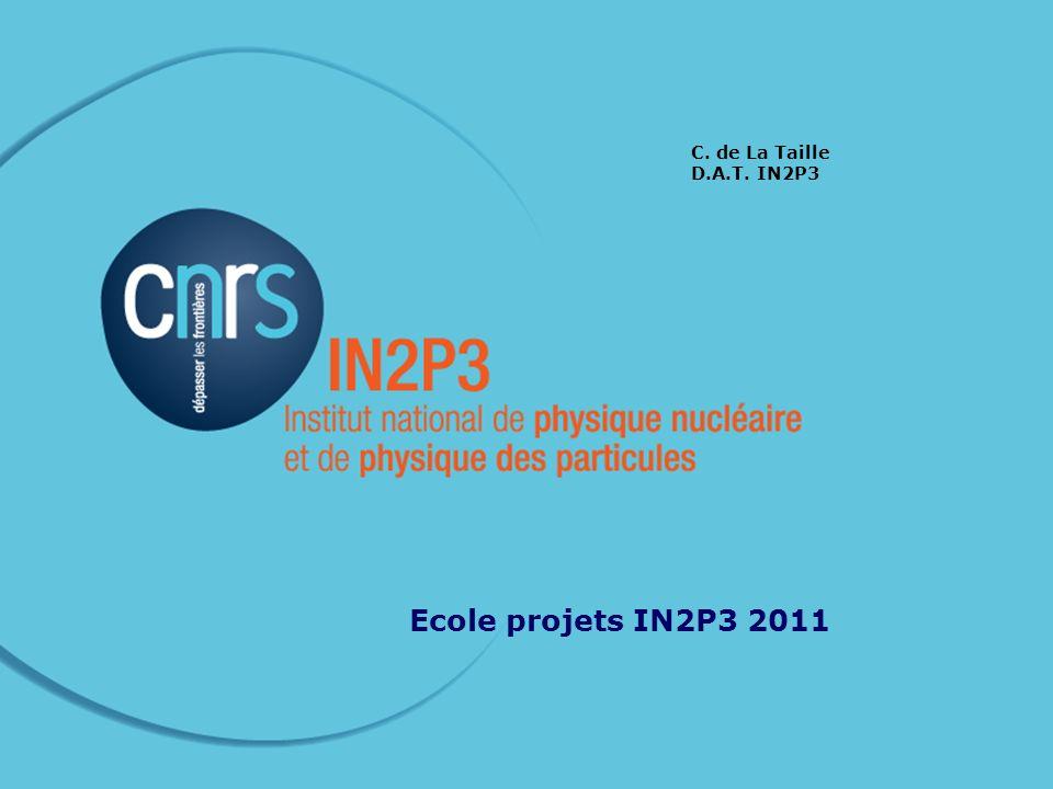 22 nov 2011Ecole IN2P3 projets Direction Technique (1) IAO/CAO électronique (C.