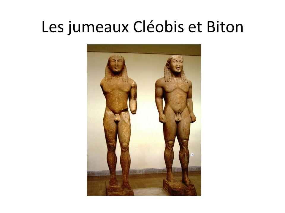 Les jumeaux Cléobis et Biton