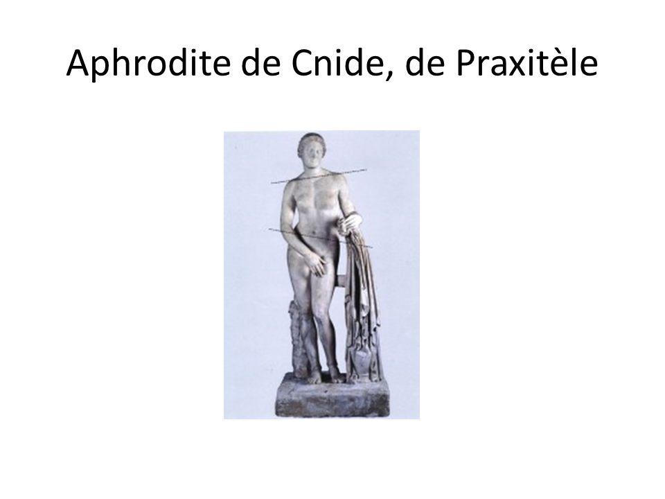 Aphrodite de Cnide, de Praxitèle