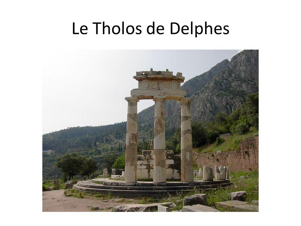 Le Tholos de Delphes