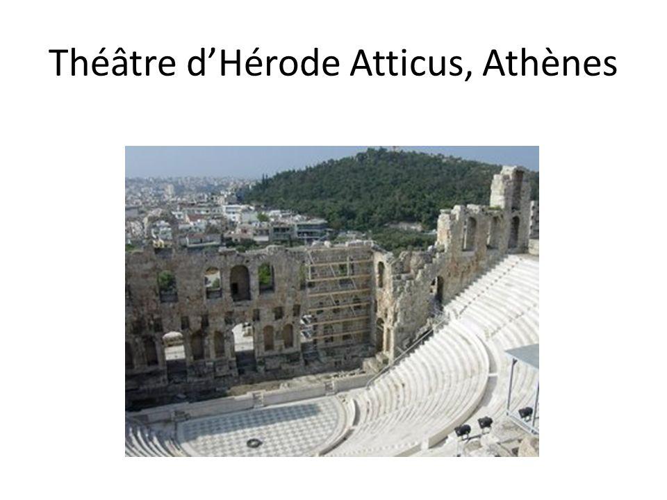 Théâtre dHérode Atticus, Athènes