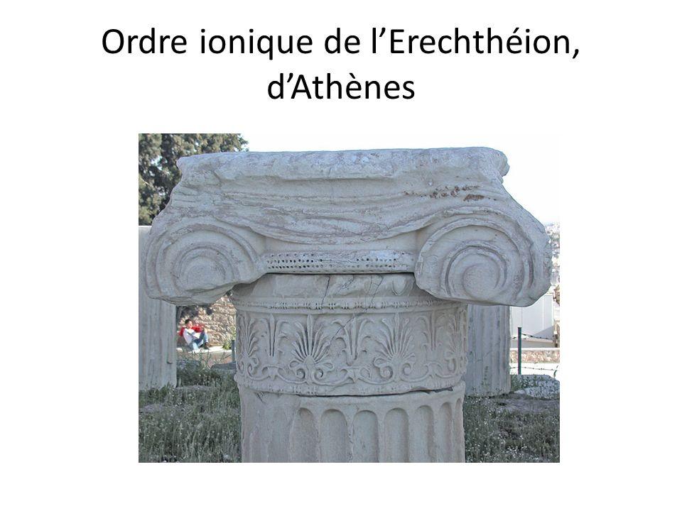 Ordre ionique de lErechthéion, dAthènes