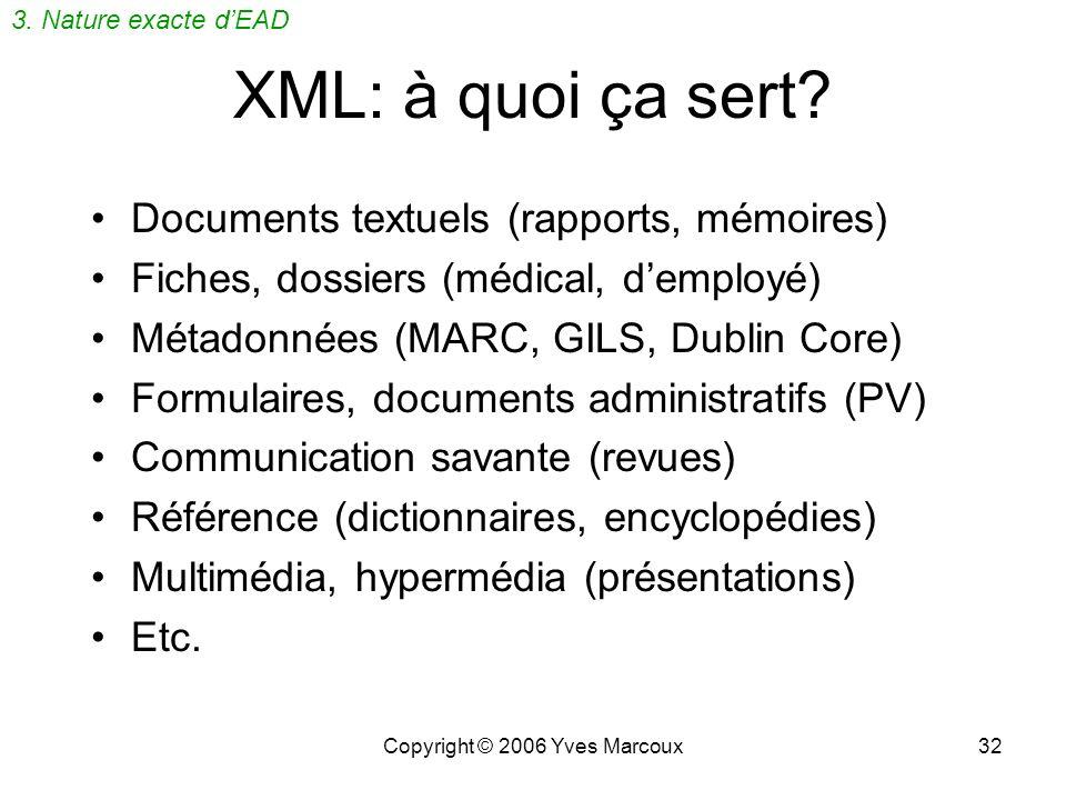 Copyright © 2006 Yves Marcoux31 mémo corps sujet destinataires auteur para nom