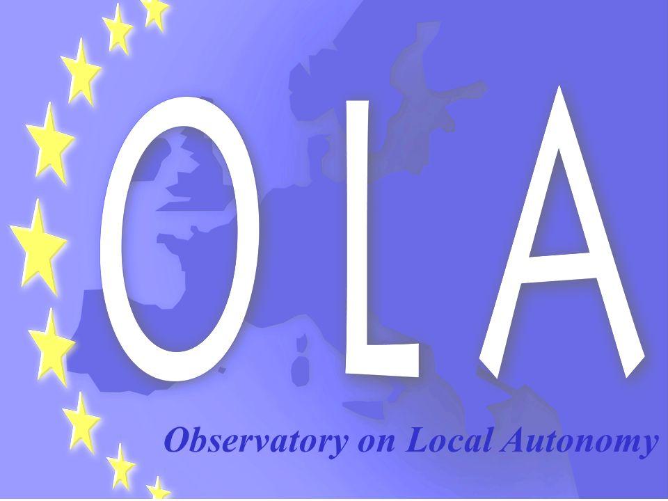 . Observatory on Local Autonomy