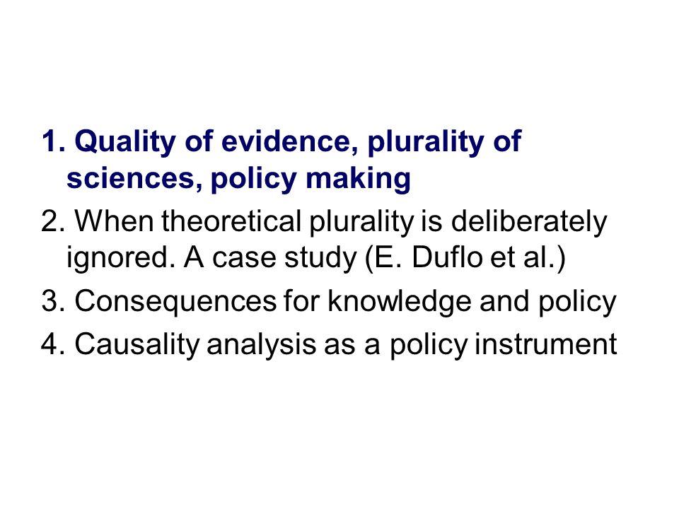 Consequences – knowledge- -Reliability.The research programme does not progress.