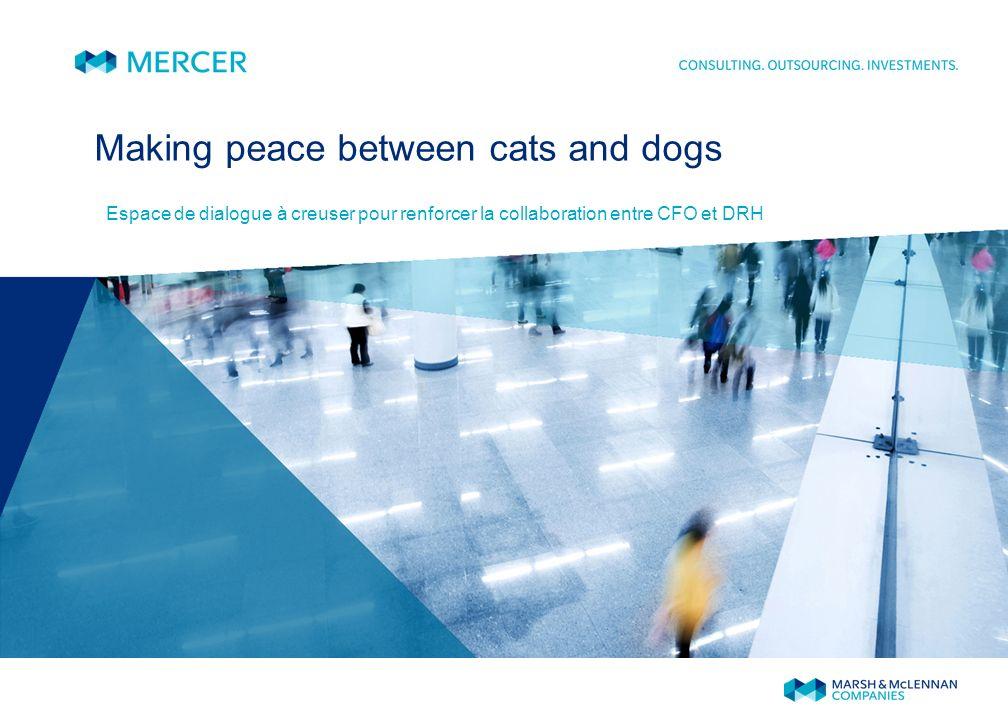Making peace between cats and dogs Espace de dialogue à creuser pour renforcer la collaboration entre CFO et DRH