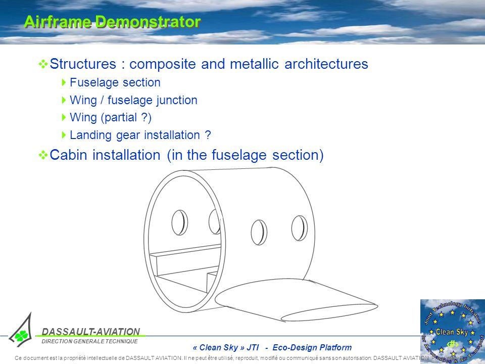 10 DASSAULT-AVIATION DIRECTION GENERALE TECHNIQUE Ce document est la propriété intellectuelle de DASSAULT AVIATION. Il ne peut être utilisé, reproduit