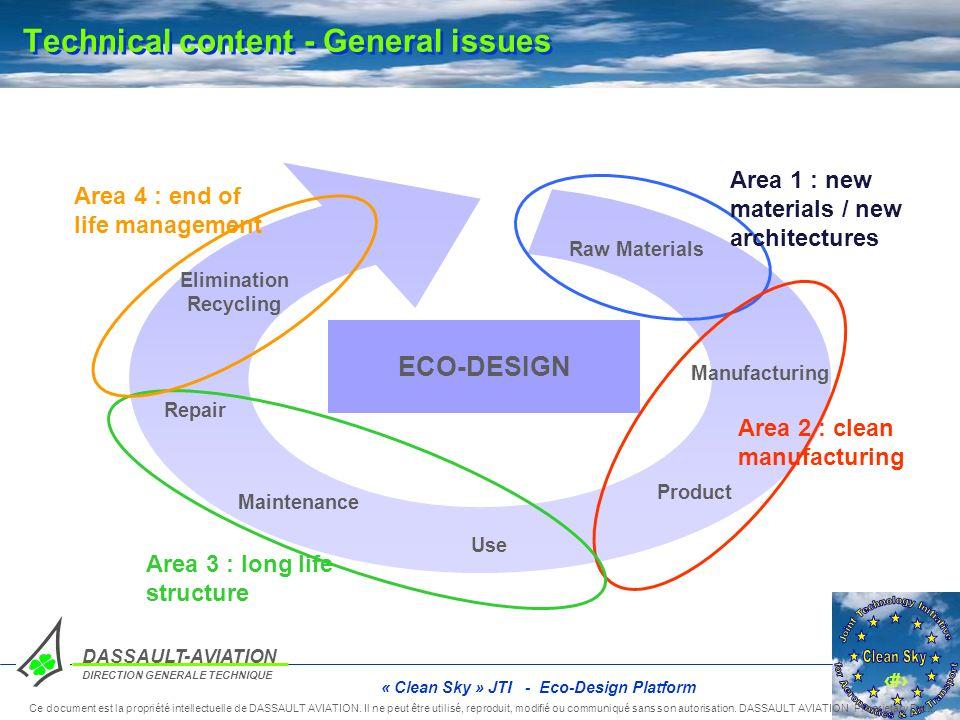 4 DASSAULT-AVIATION DIRECTION GENERALE TECHNIQUE Ce document est la propriété intellectuelle de DASSAULT AVIATION. Il ne peut être utilisé, reproduit,