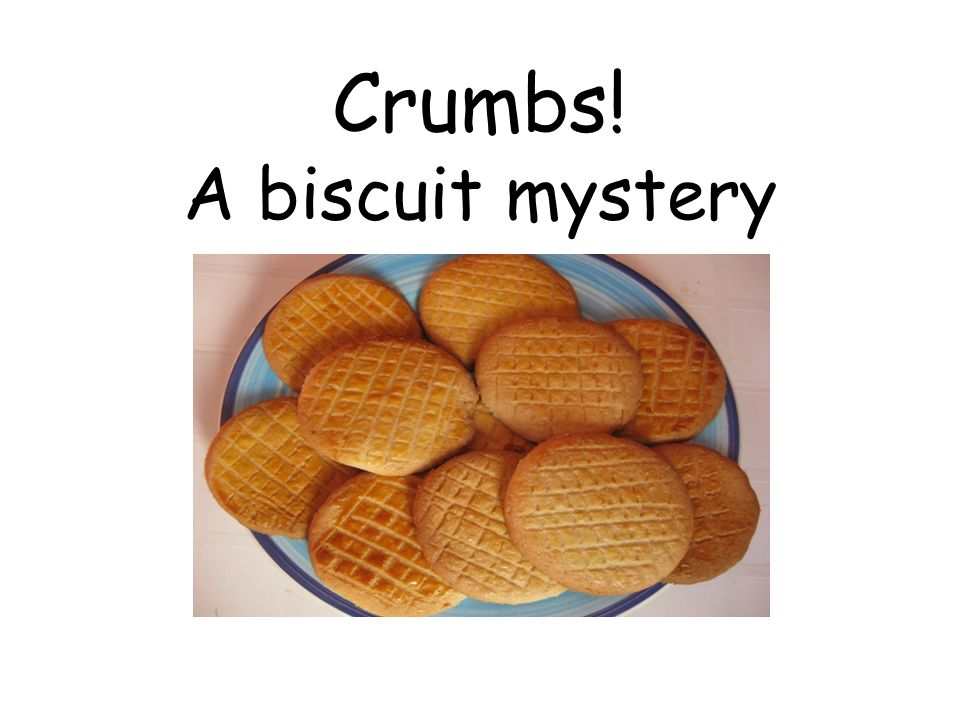 Crumbs! A biscuit mystery