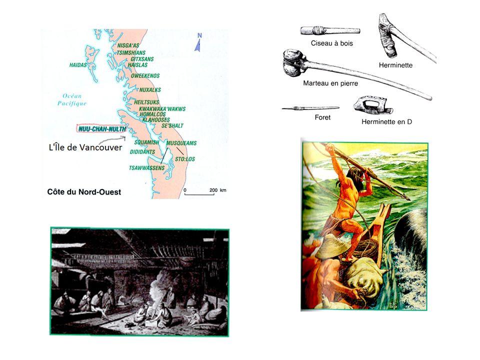 Explorateurs et traiteurs de fourrures Des explorateurs espagnols et russes viennent faire du troc avec les Autochtones.