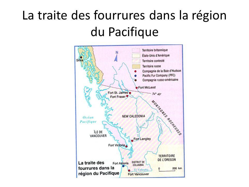 Le Fort Vancouver George Simpson est chargé détendre la traite des fourrures dans la région du Pacifique pour mettre fin à la concurrence russe et américaine.