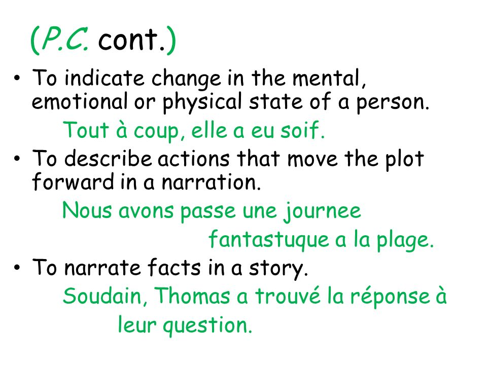 Use the connaître to say that you know, have a knowledge of, or are familiar with places or things.