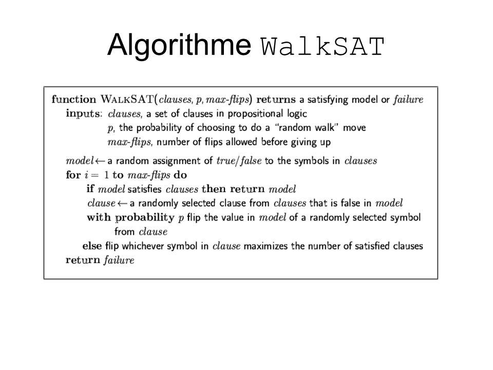 Algorithme WalkSAT