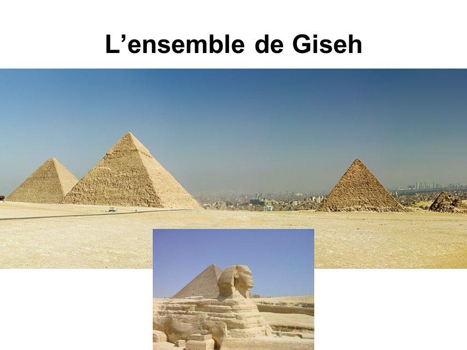 Lensemble de Giseh