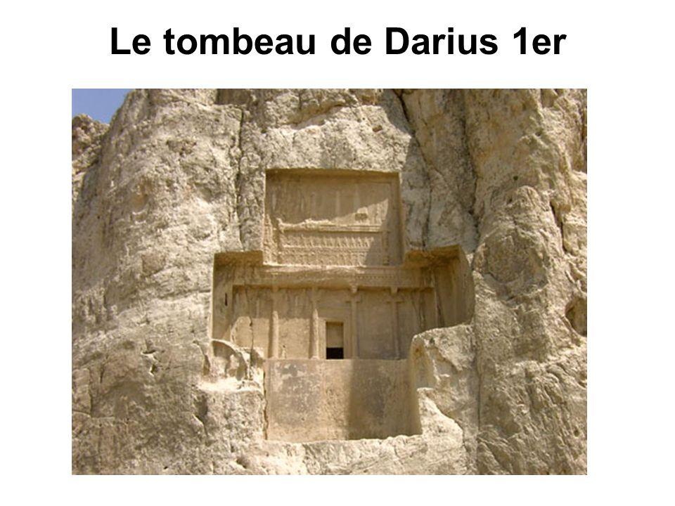 Le tombeau de Darius 1er