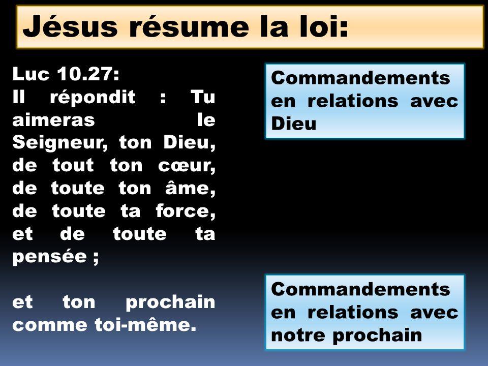 Je suis lEternel, ton Dieu, qui tai fait sortir du pays dEgypte… Tu nauras pas dautres dieux devant ma face.