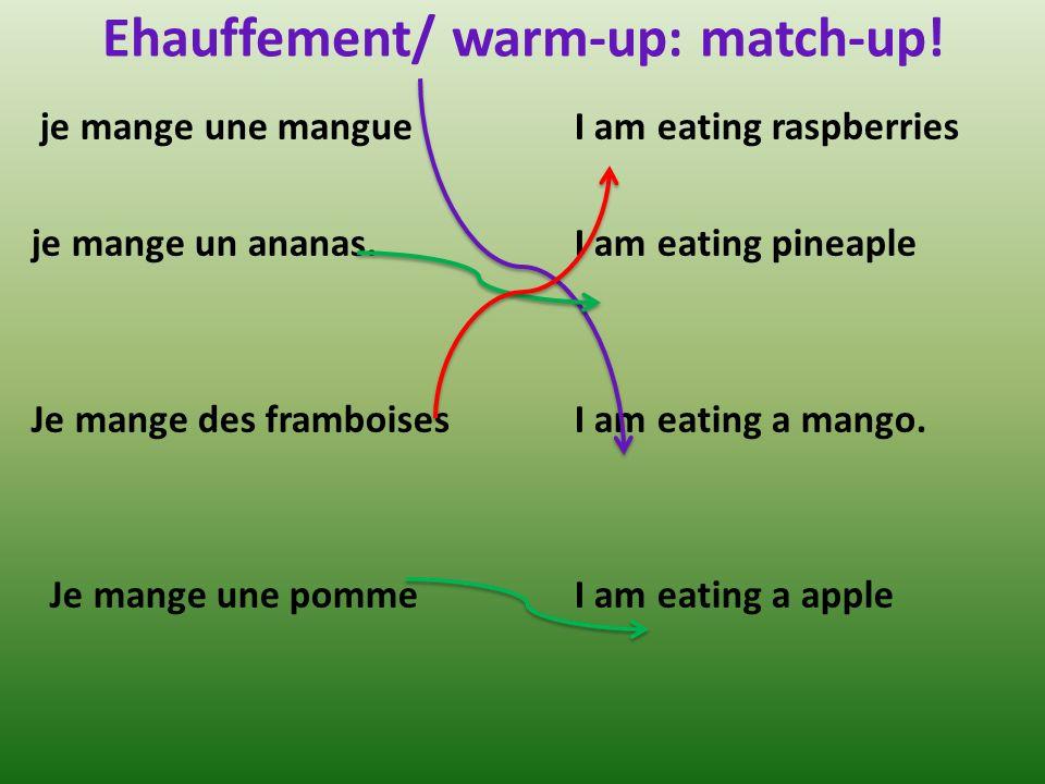 Des artichauts (m.)