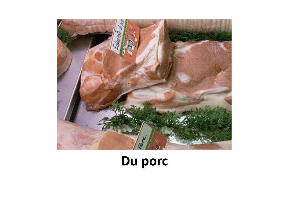 Du porc