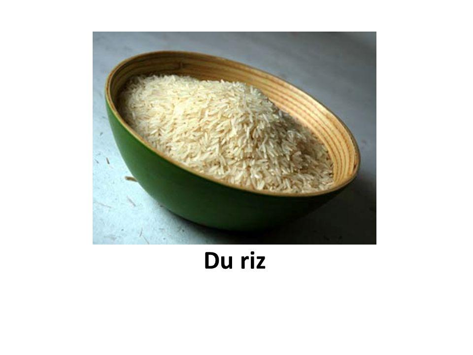 Du riz