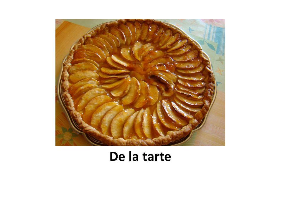 De la tarte