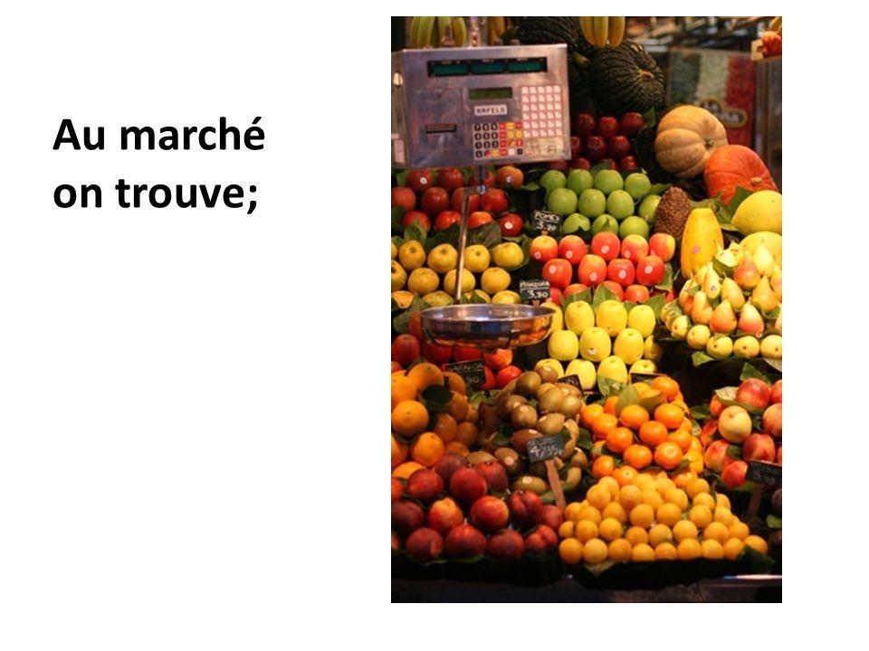 Des mangues (f.)