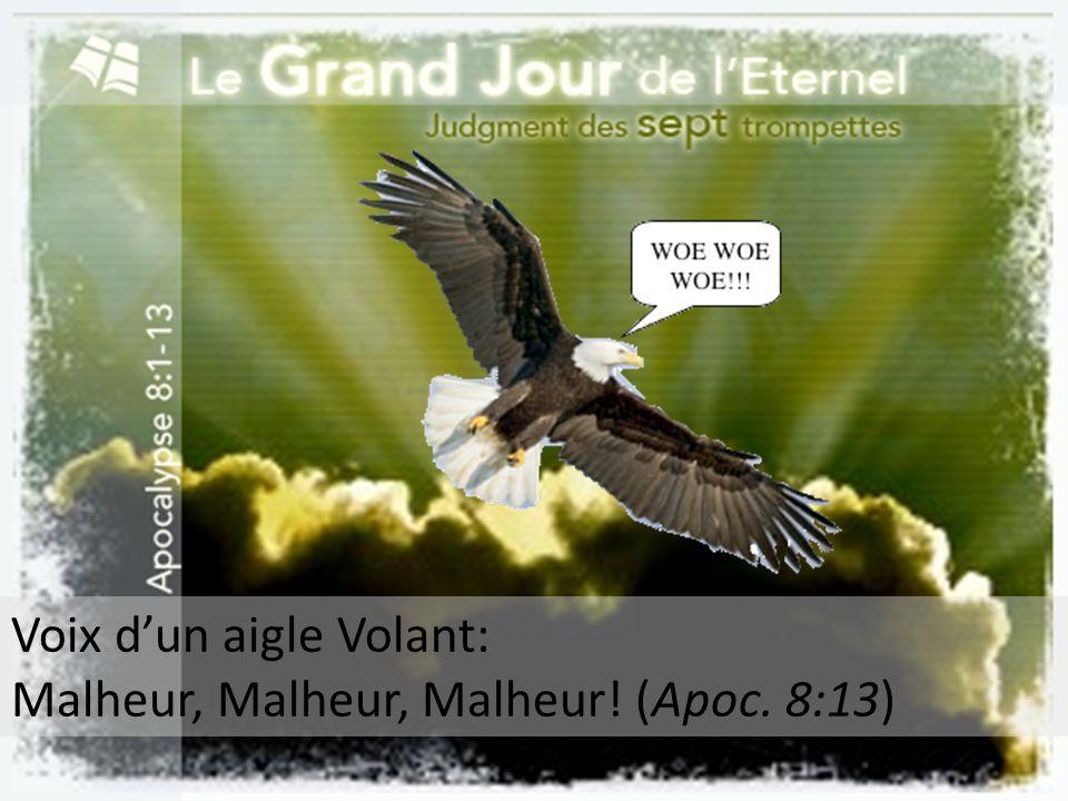 Voix dun aigle Volant: Malheur, Malheur, Malheur! (Apoc. 8:13)